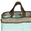 Trend Lab Cocoa Mint Storage Caddy