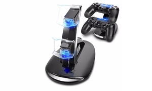 Dual USB LED Charging Station for Sony PS4 Controller