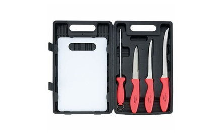 Fishing, Hunting, Camping 5 Piece Cutlery Set
