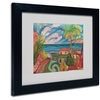 Manor Shadian 'All is Quiet' Matted Black Framed Art