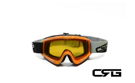 CRG Motocross ATV DIRT BIKE OFF ROAD RACING GOGGLES Adult CRG26-11