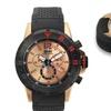 Brandt And Hoffman Chronograph Forsyth Men's Watch Black/Rose Gold