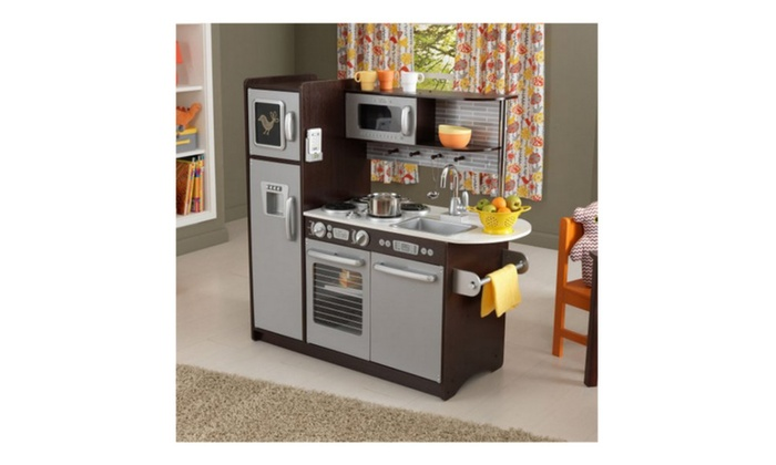 KidKraft Uptown Espresso Play Kitchen KidKraft Uptown Espresso Play Kitchen