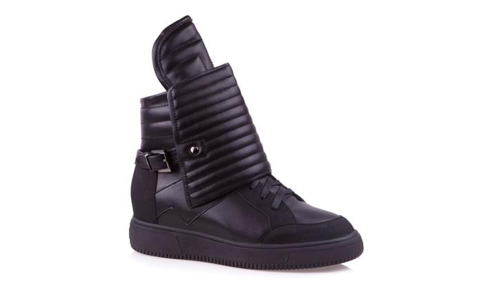 Baldi Women's Caiden Casual Black Sneakers