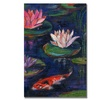 Sheila Golden The Lily Pond Canvas Print