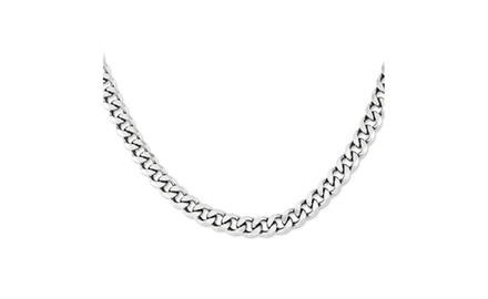IceCarats Designer Jewelry Sterling Silver 22' Curb Chain