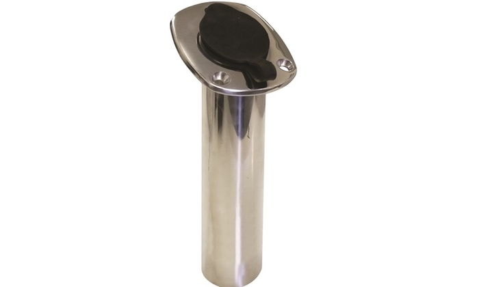 SeaSense Stainless Steel Rod Holder with Cap