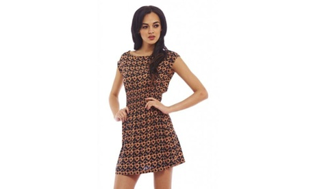 AX Paris Funky Printed Dress 36eb7f0f-db92-43f5-8403-9942a9b5f300
