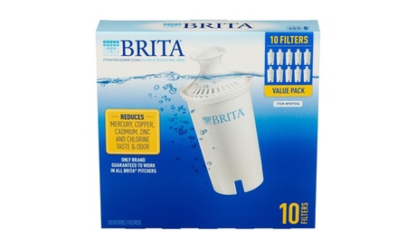 Brita Pitcher Replacement Filters Value 10 Pack 37dc9901-3a55-47f9-ad44-616734318f59