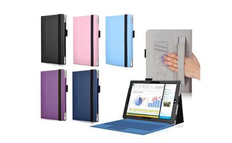PU Leather Folio Soft Cover Case with Stand for Microsoft Surface Pro 3 4dd612e5-a0a8-4e40-b415-da3374a8081b
