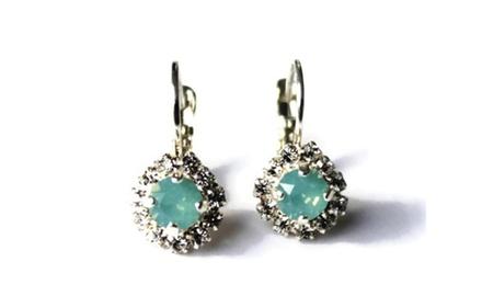 Crystal luxe earring