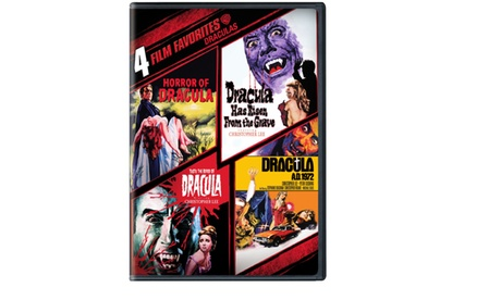 4 Film Favorites: Draculas (Dbl DVD) 257b7fe0-eaaf-49a2-8376-336a787a9b83