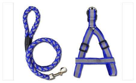 Puppy Dog Pet with Lead leash Braided Nylon Traction Rope 932848d5-f715-4c5f-b145-474b7d420d73