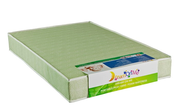Dream On Me 5inches Double Sided Play Yard Foam Mattress