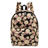 Travel Lightweight Canvas Cute Print Backpack Girls Women For School and Laptop