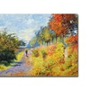 David Lloyd Glover The Sheltered Path Canvas Print