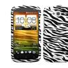 Insten Zebra Skin Phone Case for HTC: One VX