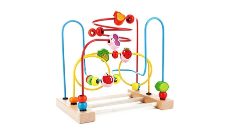 Classic Circle Bead Maze Activity Center for Toddlers efa24d1f-ed93-4037-a52e-49b842d94cd4