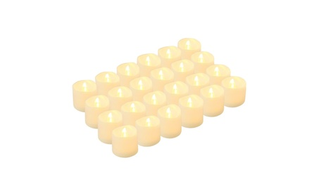 Kohree LED tea lights flameless candles, Battery operated, Pack of 24 8a131e92-e02e-4981-9839-f6e4589041ab
