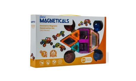 Magneticals Tile Set for Kids Stack (Magnetic Building Set) 9e16384b-841a-4523-9917-90bf4c72ed60