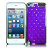 Insten For Apple Ipod Touch 6 / 5 Diamond Metal Case Dark Purple