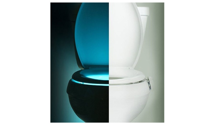 Colorful LED Motion Activated Toilet Nightlight