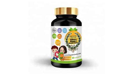 Vitamin C for Kids 250mg Natural Non GMO Vegan Supports