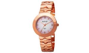 August Steiner Women's Diamond Bracelet Watch ASGP8157