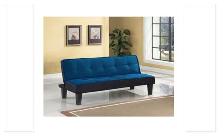 Color Block Futon Adjustable Sofa cc531063-6f16-4442-9d40-0abcf67392bb