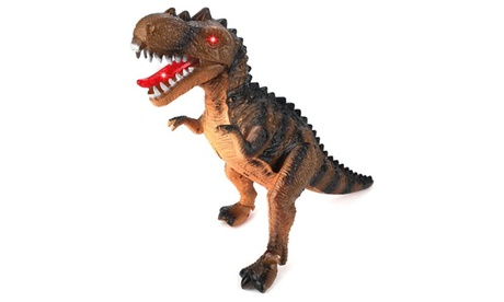Prehistoric Acrocanthosaurus T-Rex Battery Op Walking Dinosaur (Colors May Vary) ec4b6113-f7fe-417c-a184-3390c6c9e3c8