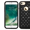 Insten Hybrid Rubberized Hard PC Case With Diamond For Apple iPhone 7
