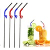 Stainless Steel Drinking Straws with Brush and Clip