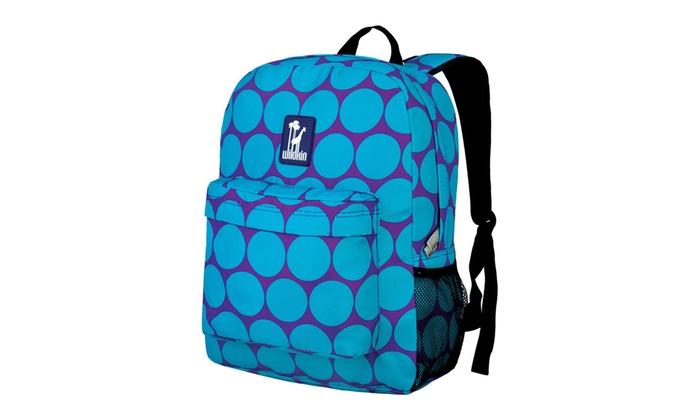 c64708c20216 Wildkin Big Dot Aqua Crackerjack Backpack - Purple