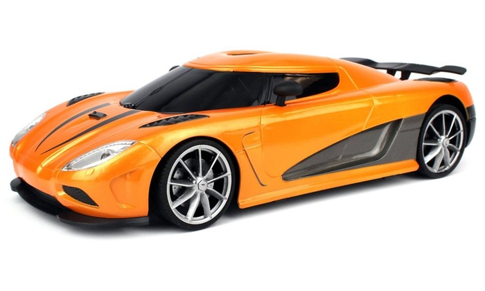 Velocity Toys Wfc Koenigsegg Agera R Remote Control Rc 1 16 Colors May Vary