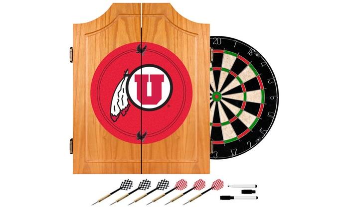 University of Utah Dart Cabinet Set
