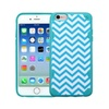 Insten Wave Hard Tpu Case For Apple Iphone 6 6s   Blue White