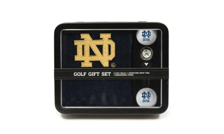Team Golf University of Notre Dame Golf Gift Set ac4264eb-4122-4e5b-b871-0d707522ee24
