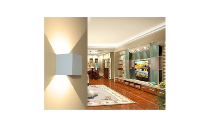 LAGUTE Wall Light 2700K Warm White 12W Wall Sconces Waterproof