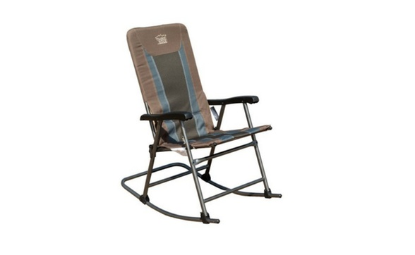 Groovy Timber Ridge Smooth Glide Lightweight Padded Folding Rocking Chair Pabps2019 Chair Design Images Pabps2019Com