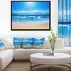 Paradise Beach - Seascape Photography Framed Canvas Art Print