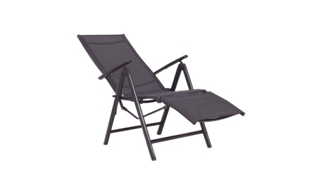 Adjustable Folding Lounge Chaise Chair Recliner Patio Furniture New 9d95b589-d9bf-4bef-9d80-f445855d5b13