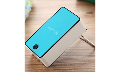 Mini Handheld Portable Air Conditioning Fan (1- or 2- Pack) b8a4811d-d1e6-4bbb-94ba-d61f89ba5603