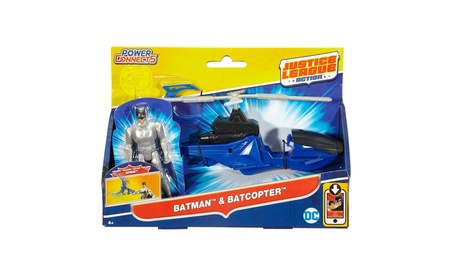 Mattel Justice League Action Batman™ And Batcopter™ Vehicle And Figure 1edbdde3-7852-4200-b24c-7bd87c2871d8