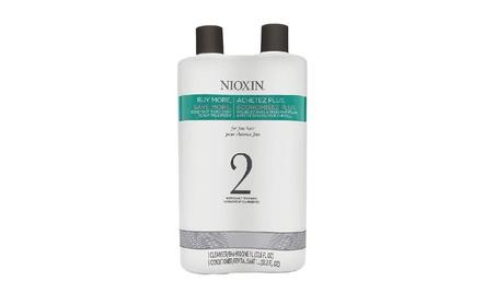 Nioxin System 2 Cleanser Shampoo, 33.8 oz & Scalp Therapy Conditioner a572bdaf-a3b7-48ee-9965-4f0abb1ac4bf