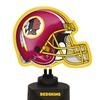 Neon Helmet Lamp-Redskins