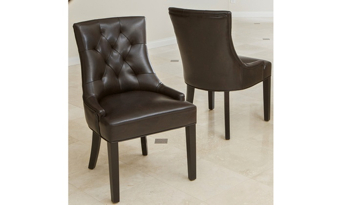 Excellent Stacey Dining Chair 2 Pack Groupon Machost Co Dining Chair Design Ideas Machostcouk