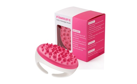 FAMILIFE Bath Brush Body Massager Cellulite Remover for Smoother Skin 485f64a3-fad3-460d-a17b-8a50135c0705