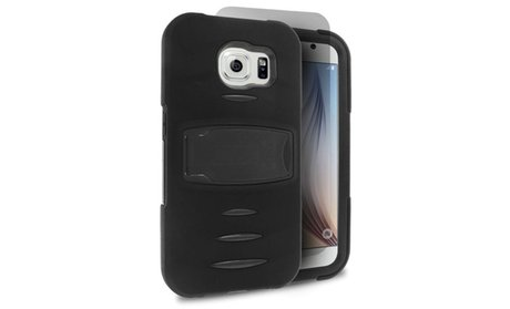 Armor Hybrid Protective Case with Stand For Samsung Galaxy S6