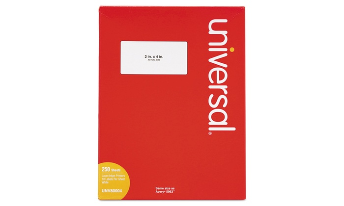 universal laser printer labels template - up to 68 off on universal office products las