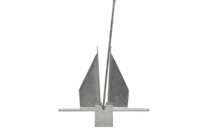 Danielson Galvanized Fluke Anchor – 4 Lbs.